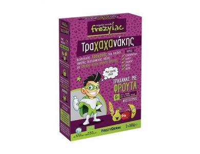 Frezyderm Frezylac Τραχαχανάκης Τραχάνας με Φρουτα 6m+, 2x165gr