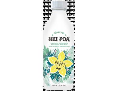 Hei Poa Monoi Oil Tiara-Happy, Ενυδάτωση & Θρέψη για Μαλλιά & Σώμα, με άρωμα Βανίλιας & Φρούτων, 100ml