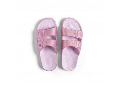 Freedomoses Γυναικεία Slide Σανδάλια, Isla Glitter, No30-31
