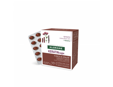 Klorane KERATINcaps - Συμπλήρωμα διατροφής για μαλλιά και νύχια Κουτί 30 κάψουλες