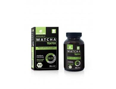 Holistic Med Matcha Organic TeaTox, Αποτοξίνωση & Αδυνάτισμα, 30gr