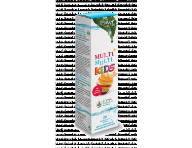 Power Health Multi + Multi Kids Stevia με Γεύση Φράουλα 20 Eff.Tabs