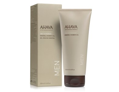 Ahava Men Care Mineral Shower Gel, Δροσιστικό Αφρόλουτρο Για Άνδρες, 200ml