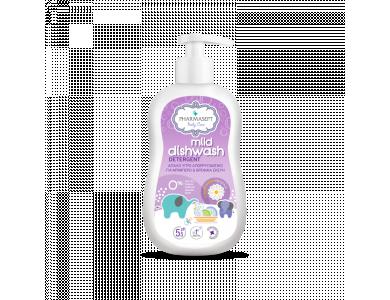 Pharmasept Baby Care Mild Dishwash Detergent, Απαλό Υγρό Απορρυπαντικό για Βρεφικά Σκεύη & Μπιμπερό, 400ml