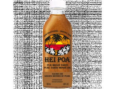 Hei Poa Pure Tahiti Monoi Oil Nacres or Golden Pearl, Λάδι για Ενυδάτωση & Λάμψη για Δέρμα & Μαλλιά, 100ml