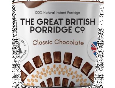 The Great British Porridge Co, Pot Classic Choco, Νιφάδες Βρώμης με Γεύση Σοκολάτα, Χωρίς Γλουτένη, 60gr