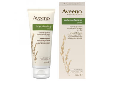 Aveeno® Daily Moisturising Cream Ενυδατική Κρέμα Σώματος, 100ml