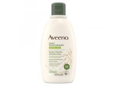 Aveeno® Daily Moisturising Intimate Wash Υγρό Καθαρισμού για την Ευαίσθητη Περιοχή με Άρωμα Βανίλια 300 ml