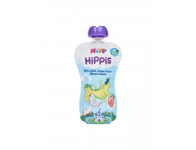 HiPP Δράκος με Μήλο, Αχλάδι & Dragon fruit απο 1 ετους - 100gr