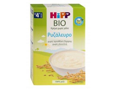 HiPP Κρέμα Ρυζάλευρο χωρίς Γάλα απο τον 4ο μήνα - 200gr