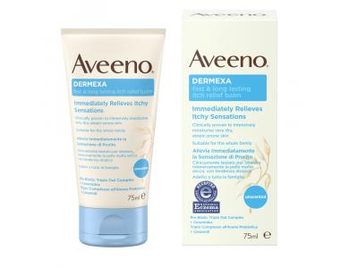 Aveeno® Dermexa Fast & Long Lasting Itch Relief Balm Βάλσαμο για γρήγορη Ανακούφιση από τον Κνησμό που διαρκεί 75ml