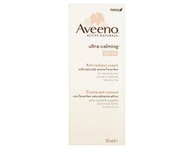 Aveeno® Ultra Calming Anti Redness Cream – SPF 20 Καταπραϋντική Κρέμα  Προσώπου για την Μείωση της Ερυθρότητας, 50ml