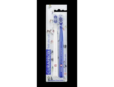 Curaprox CS 5460 Ultra Soft Duo Winter BLUE Int. Edition 2019