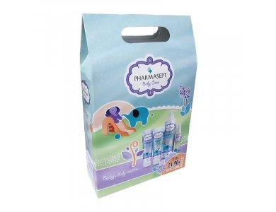 Pharmasept Promo Mild Bath 500ml & Baby Extra Calm Cream 150ml & Baby Natural Oil 100ml & Baby Soothing Cream 150ml