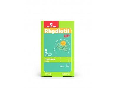 Holistic Med Rhodiotil Up, Διάθεση & Ενέργεια, 30caps
