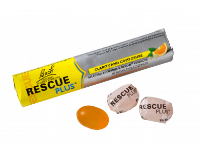Power Health Bach Rescue Plus Lozenges, Kαραμέλες με Γεύση Πορτοκάλι & Σαμπούκο 10τμχ