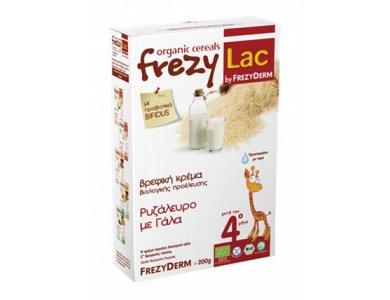 Frezylac Βιολογική Κρέμα Ρυζάλευρο με Γάλα για Βρέφη μετά τον 4ο μήνα, 200gr