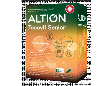 Altion Tonovit Senior Multivitamin 40softcaps