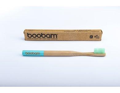 Boobam BrushStyle Adult Light Blue, Medium, Οδοντόβουρτσα Ενηλίκων
