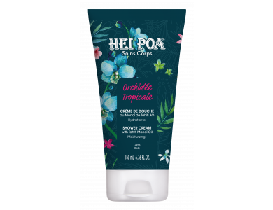 Hei Poa Orchidee Tropicale Shower Cream, Κρεμώδες Αφρόλουτρο με Άρωμα Τροπικής Ορχιδέας, 150ml
