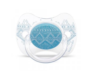 Suavinex Premium HC Physio Πιπίλα Σιλικόνης 0-4m, Blue
