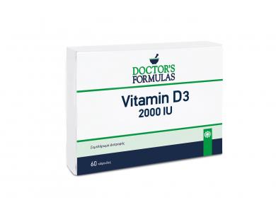 Doctor's Formula Vitamin D3 2000IU 60 soft caps