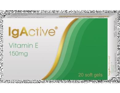 IgActive Vitamin E 150mg Mαλακή κάψουλα περιέχει βιταμίνη Ε 150mg 20caps