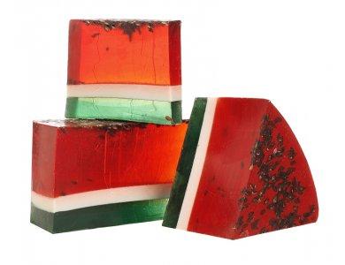 Fresh Line Grape Soap Watermelon, Καρπούζι & Φραγκόσυκο Χειροποίητο Σαπούνι 120gr