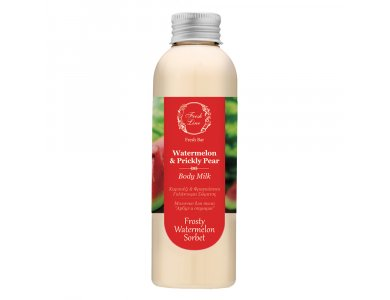 Fresh Line  Watermelon & Prickly Pear Body Milk, Καρπούζι & Φραγκόσυκο Γαλάκτωμα Σώματος 200ml