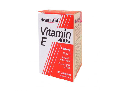 Health Aid Vitamin E 200iu 60caps