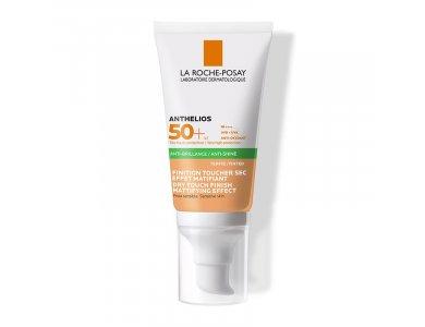 La Roche Posay Anthelios XL Anti-Shine Tinted Dry Touch Gel-Cream SPF50, Αντηλιακή Gel-Κρέμα Προσώπου με Χρώμα 50ml