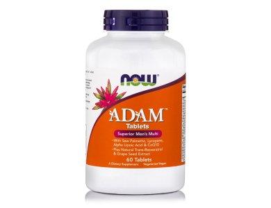 Now Adam Men's Multiple Vitamin 60tabs
