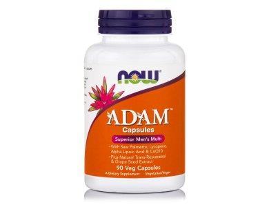 Now Adam Men's Multiple Vitamin 90vegs.caps