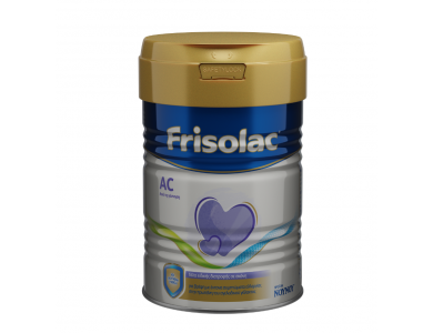 Frisolac AC, Γάλα Ειδικής Διατροφής για Βρέφη από τη Γέννηση, 400gr