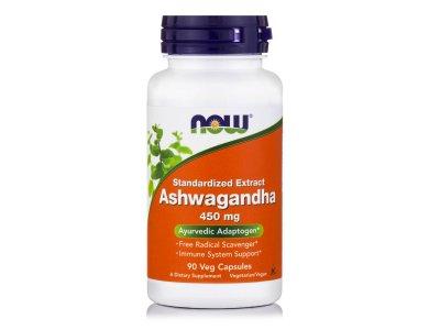 Now Ashwagandha Extract  450mg 90veg.caps
