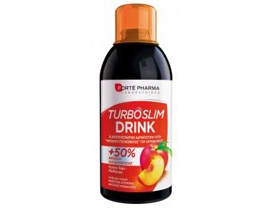 Forte Pharma Turboslim Drink Γεύση Ροδάκινο, 500ml
