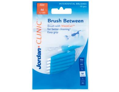Jordan Clinic Brush Between, Μεσοδόντια Βουρτσάκια 0.6mm (Medium), 10τμχ