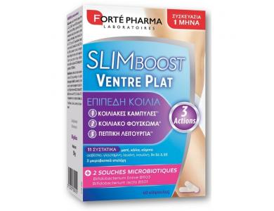 Forte Pharma SlimBoost Ventre Plat Συμπλήρωμα Διατροφής για Επίπεδη Κοιλιά 60caps
