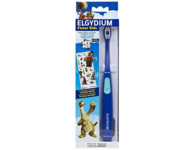 Elgydium Power Kids Ice Age T/B Blue Ηλεκτρική Οδοντόβουρτσα