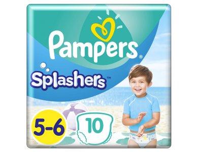 Pampers Splashers Μέγεθος 5-6 (14kg+) Πάνες-Μαγιό, 10τμχ
