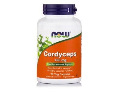 Now Cordyceps 750mg 90veg.caps