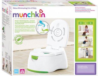 Munchkin Παιδική Τουαλέτα Multi-Stage 3 σε 1, 18m+ Μπλέ Καπάκι