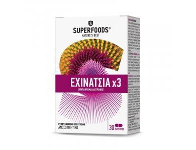 Superfoods Εχινάτσια x3 30caps