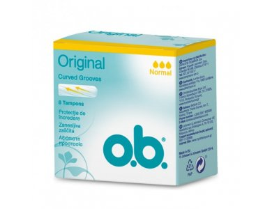 O.B. Original Normal 8τμχ
