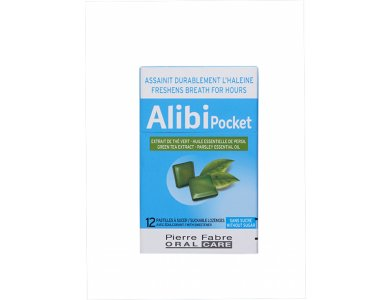 Elgydium Alibi Παστίλιες - Νέα Συσκευασία Κουτί με 12 παστίλιες
