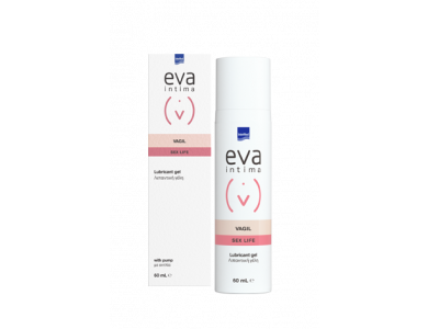 InterMed Eva Intima Vagil, Λιπαντικό για Διευκόλυνση της Σεξουαλικής Επαφής, 60ml
