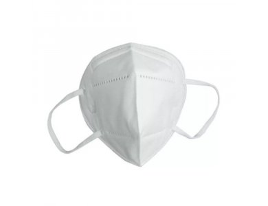 Famex Poli FFP2 Particle Filtering Half Mask Άσπρη, 1τμχ