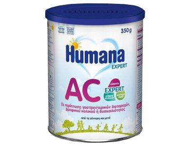 Humana AC Expert Βρεφικό Γάλα 0m+ Κατά των Κολικών & της Δυσκοιλιότητας, 350gr