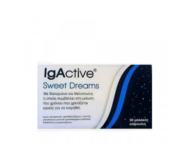 IgActive Sweet Dreams 30 μαλακές κάψουλες