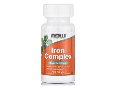 Now Iron Complex 100veg.caps